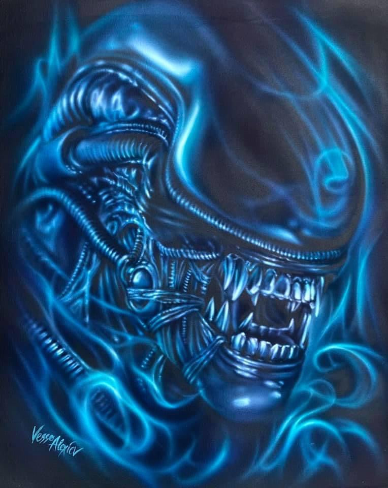 Limited Edition Alien Print