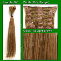 #8 Light Brown - 20 inch Remi-thumbnail