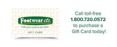 Call toll-free 1.800.750.0572 to purchase a Gift Card today!