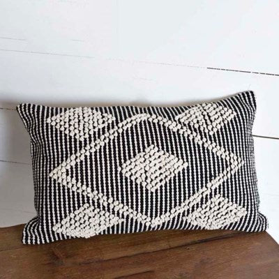 Diamond Patterned Pillow
