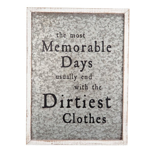 Dirty Clothes Wall Art