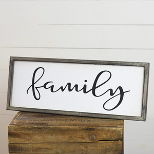 "24"" Family Sign"
