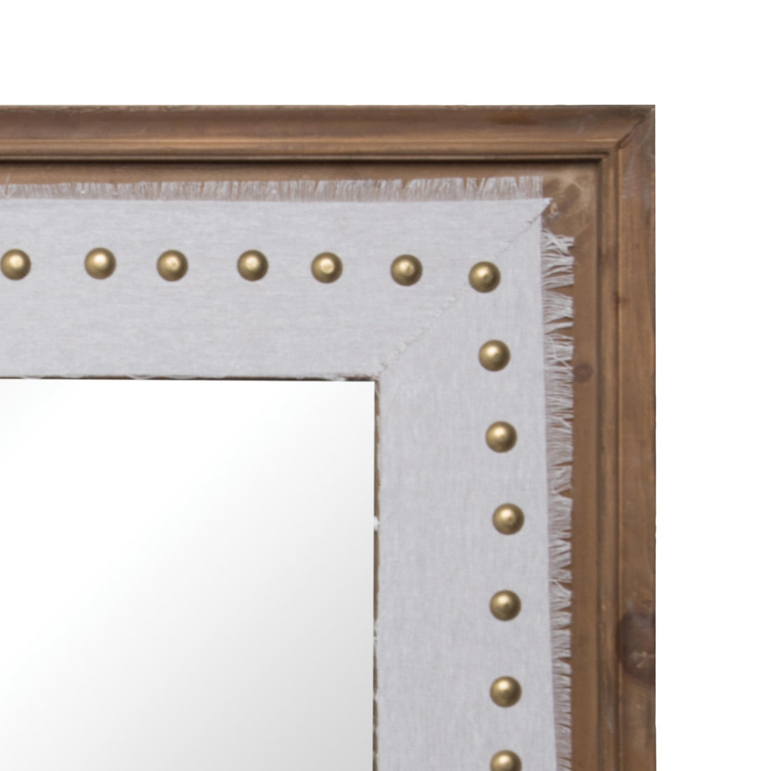 Upholstered Mirror