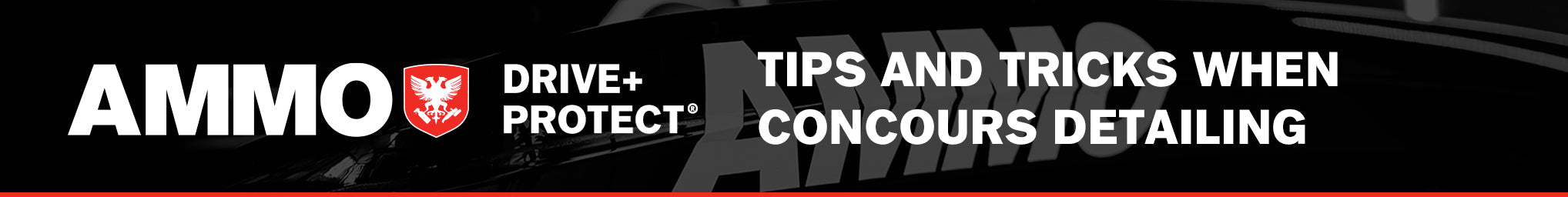 Tips and Tricks when concours detailing