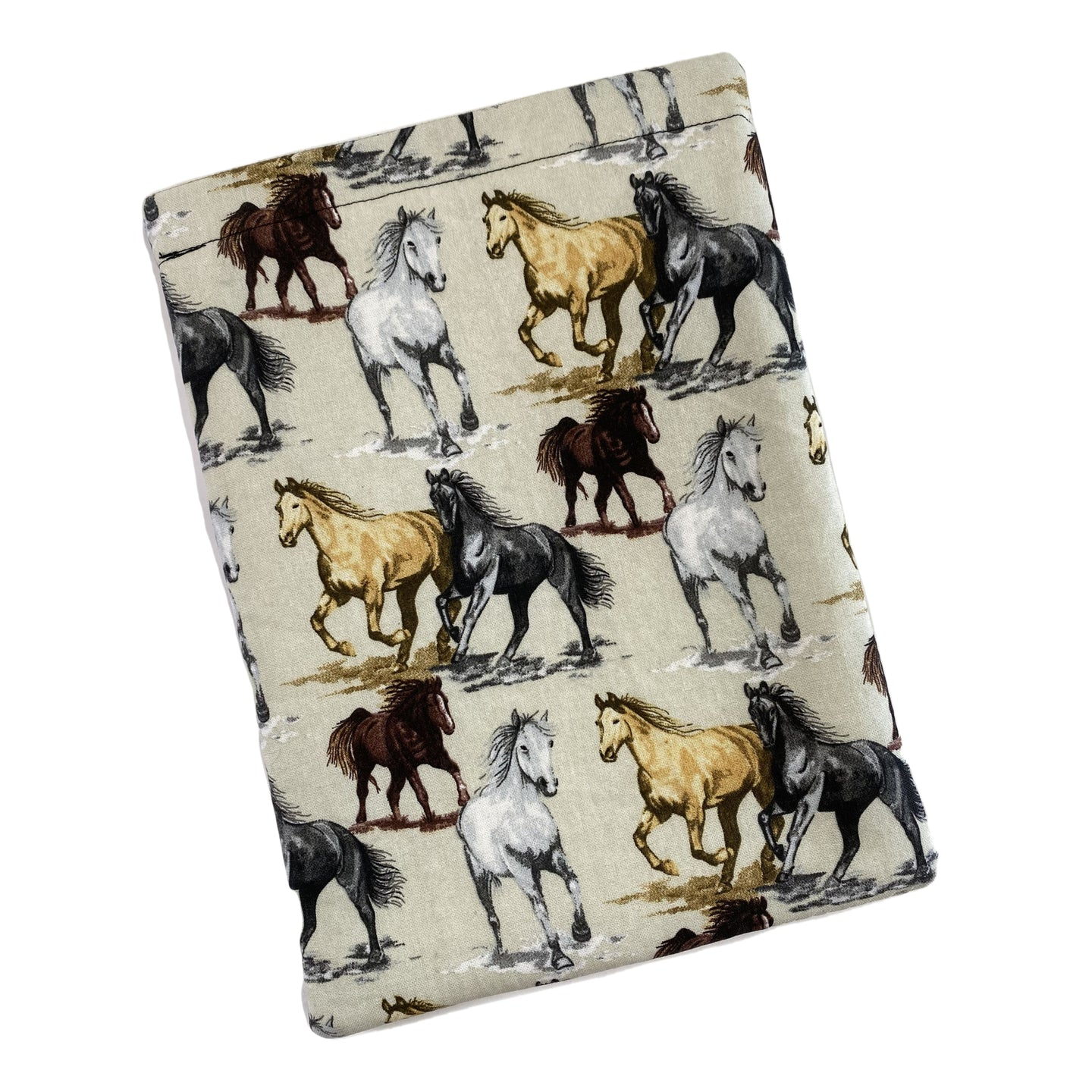 Horses Running Padded Book Sleeve