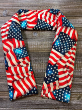 Load image into Gallery viewer, Vintage American Flags - Bliss Break Neck and Shoulder Wrap - Microwave or Freeze