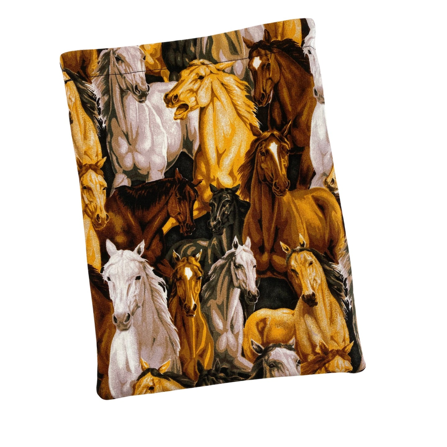 All Over Horses Padded Book Sleeve