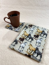 Load image into Gallery viewer, Horses Running Padded Book Sleeve