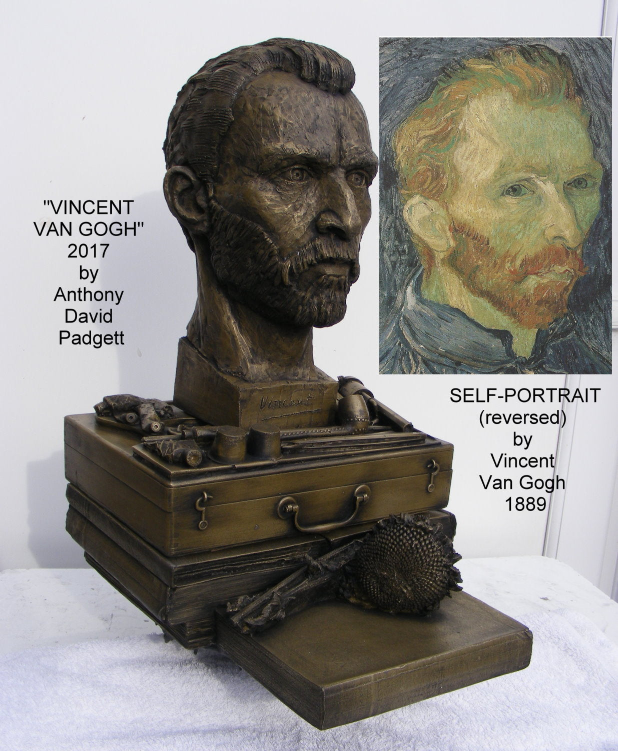 Bust of Vincent Van Gogh 2017