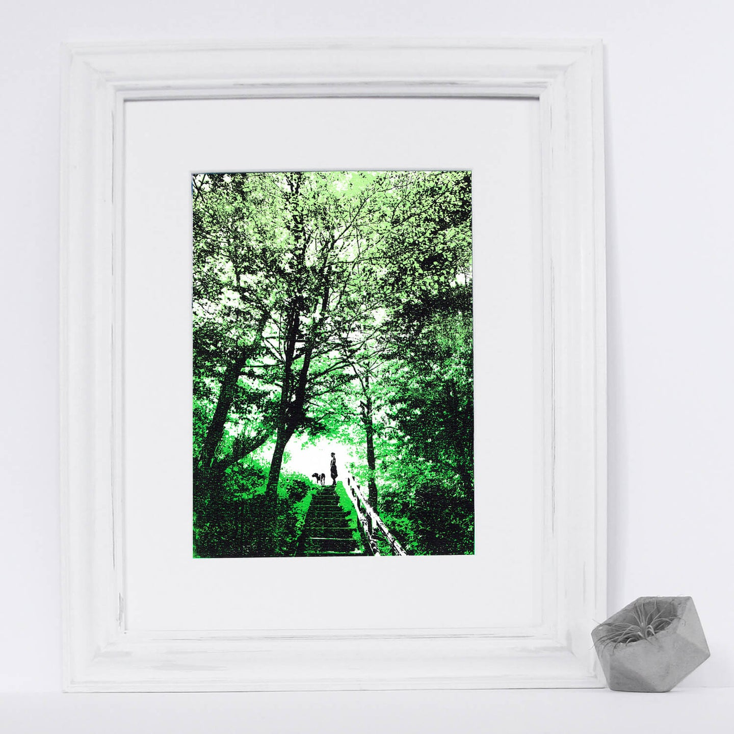 'Woodland Walks' Original Silkscreen Print