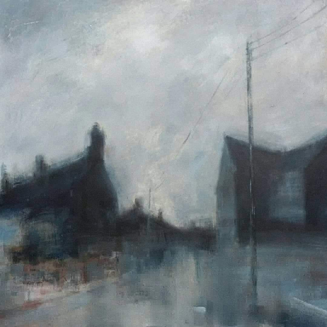 Stephen Liddle Stoke Rooftops by Liddle Stephen