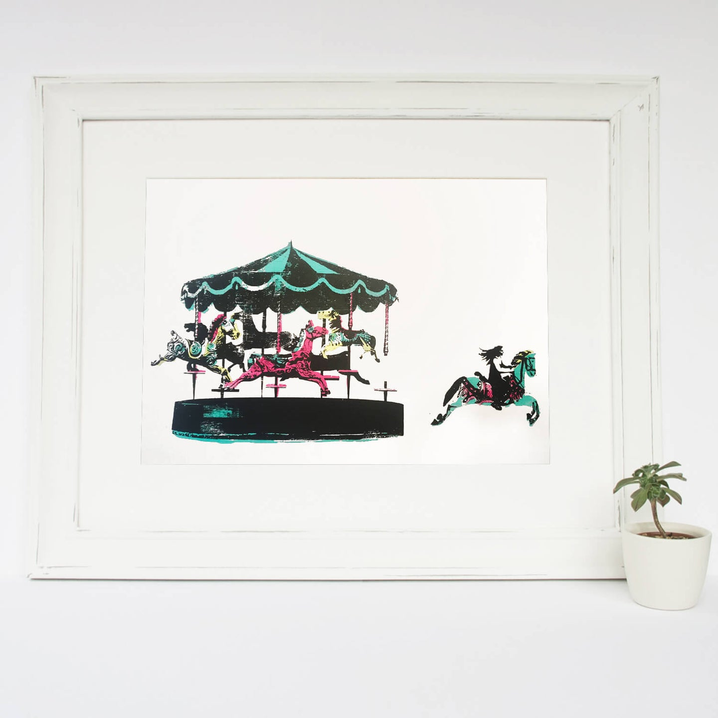 'Joy II' Original Silkscreen Print