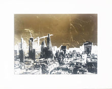 Load image into Gallery viewer, 'London Gold II' Original Silkscreen Print