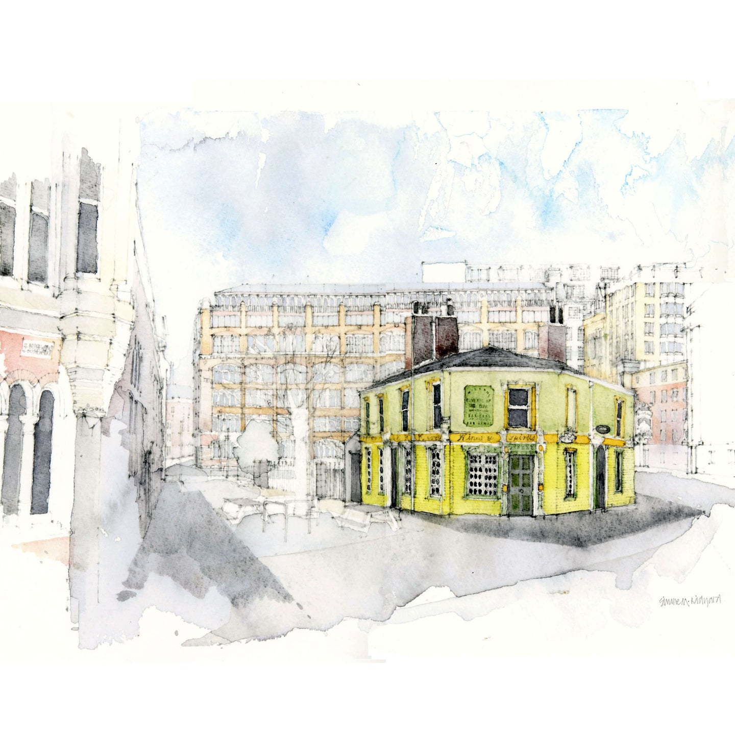 Peveril of the Peak, Manchester Limited-edition print (1/10)
