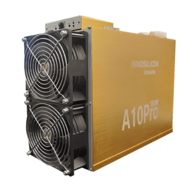 Innosilicon A10 Pro+ 6GB Ethereum miner (720 Mh/s) - KriptoShop - UK Cryptocurrency Mining Hardware Supplier