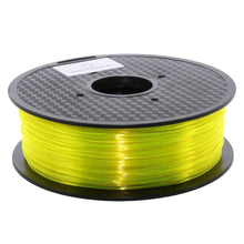 Lade das Bild in den Galerie-Viewer, 3D Filament PLA Filament gelb transparent