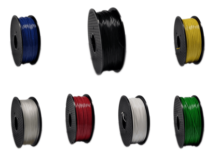 TPE 90A Filament collage