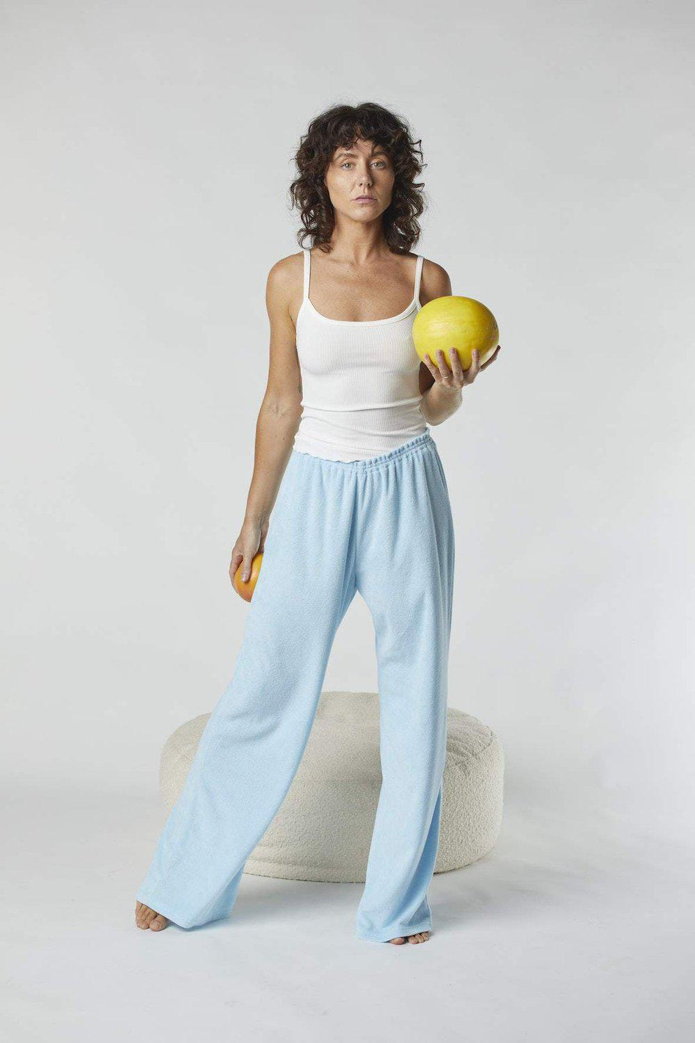 Terry Relaxed Pant / Baby Blue | Summi Summi | Mad About The Boy