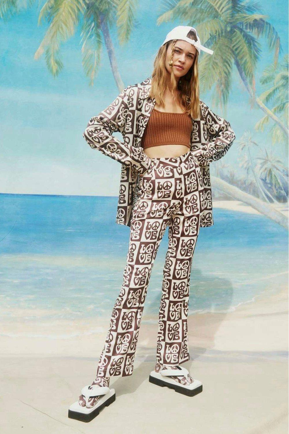 All You Need Is Love Pant / Cocoa Sand - PRE-ORDER | HOUSE OF SUNNY | Mad About The Boy