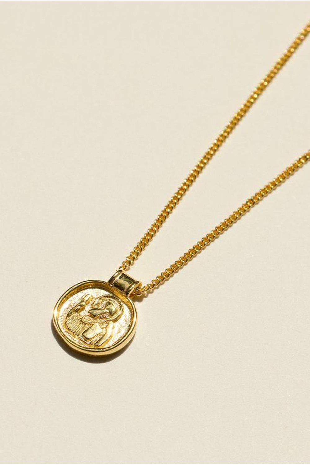 925 Saint Christopher V2 Pendant Necklace | Brie Leon | Mad About The Boy