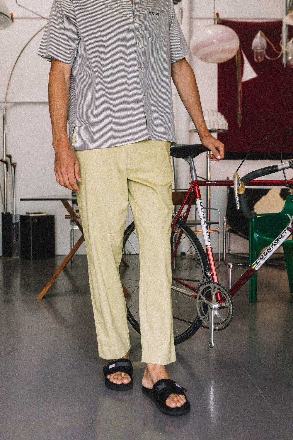 Ashford Pant / Olive | Rode To No Wear | Mad About The Boy