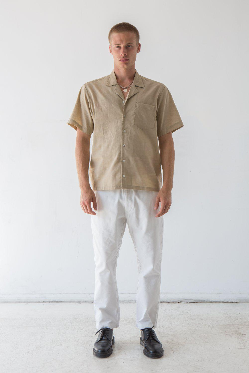 Oakwood Chino Pant / White | Flores | Mad About The Boy