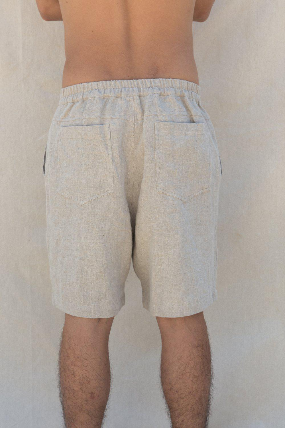 Norton Walk Short / Natural | Flores | Mad About The Boy