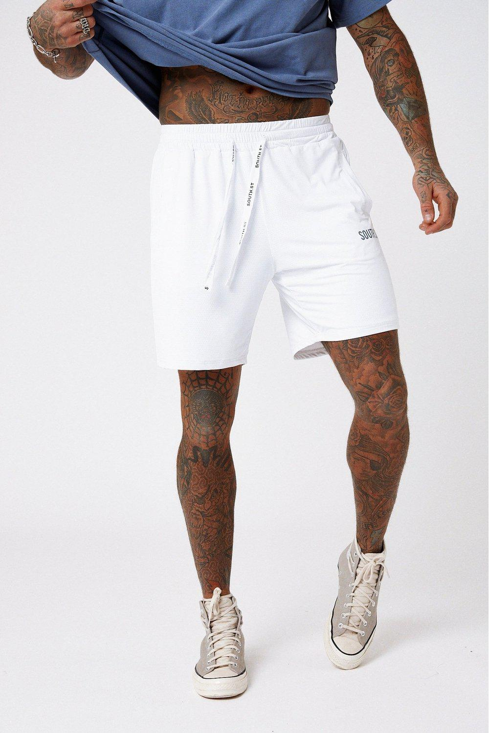 Net Shorts / White | South St | Mad About The Boy
