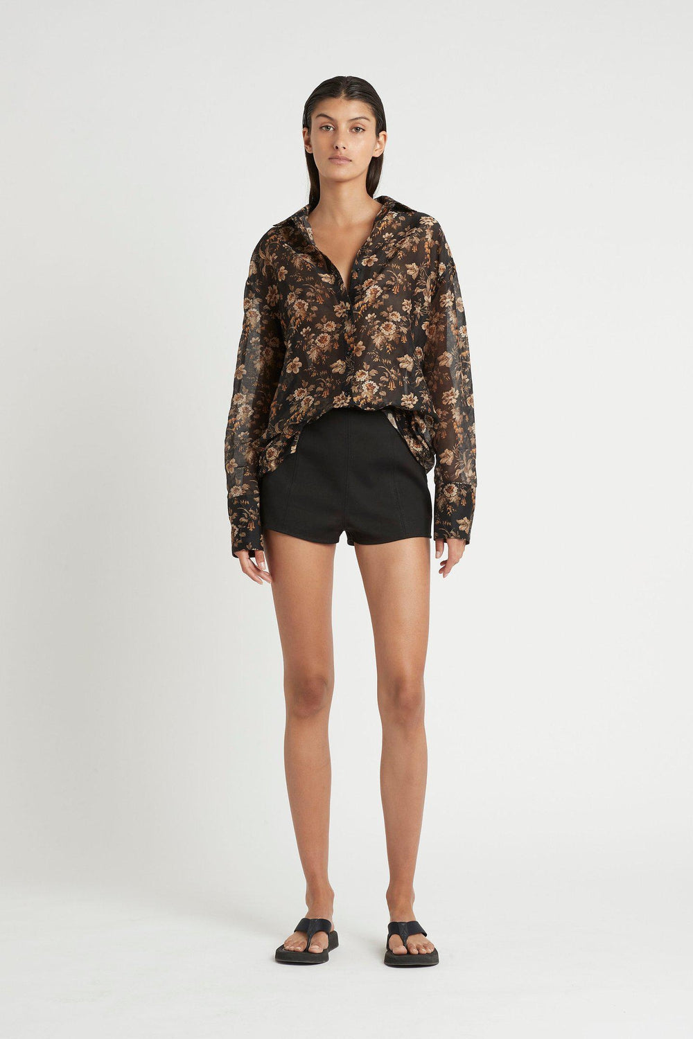 ANDRE PANELLED SHORT / BLACK | SIR | Mad About The Boy