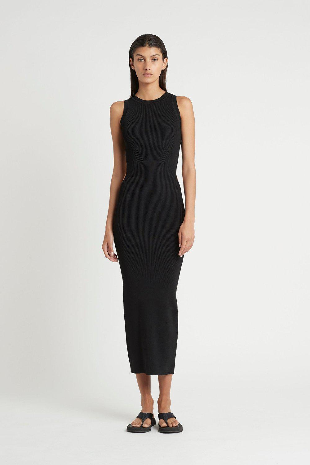 Celle Cut Out Dress / Black | SIR | Mad About The Boy