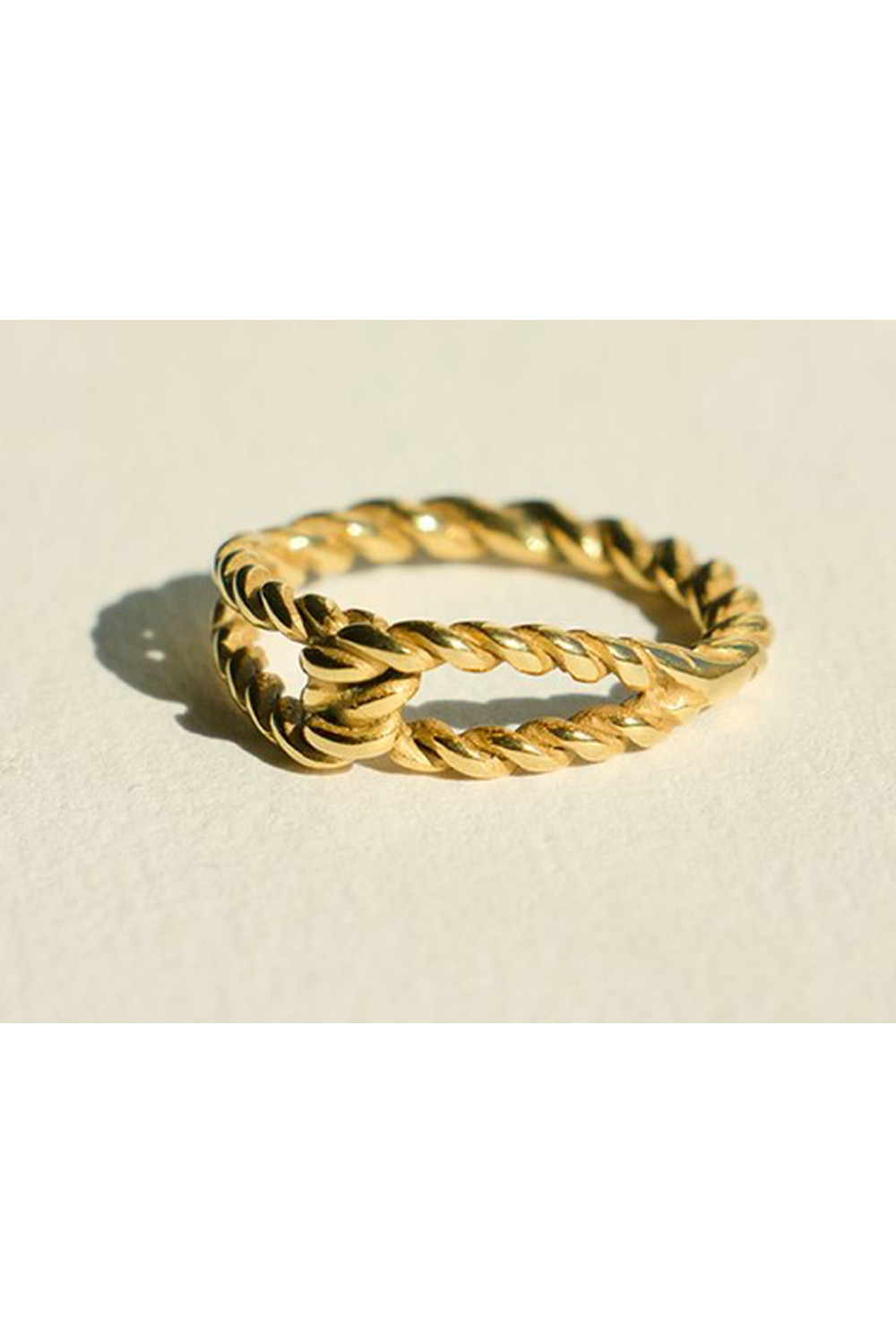 TWIST KNOT RING | Mad About The Boy | Mad About The Boy