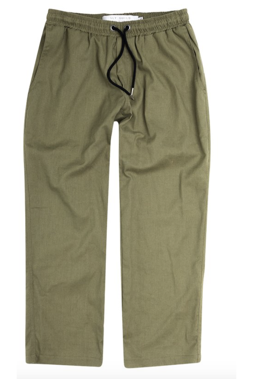 Yoone Linen Pant / Khaki | Sly Guild | Mad About The Boy