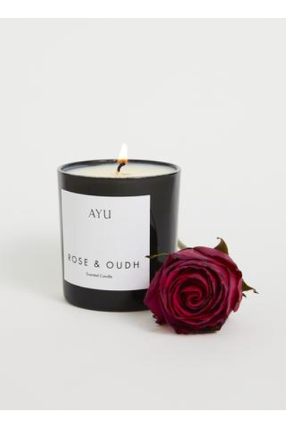 Candle - Rose and Oudh | AYU | Mad About The Boy