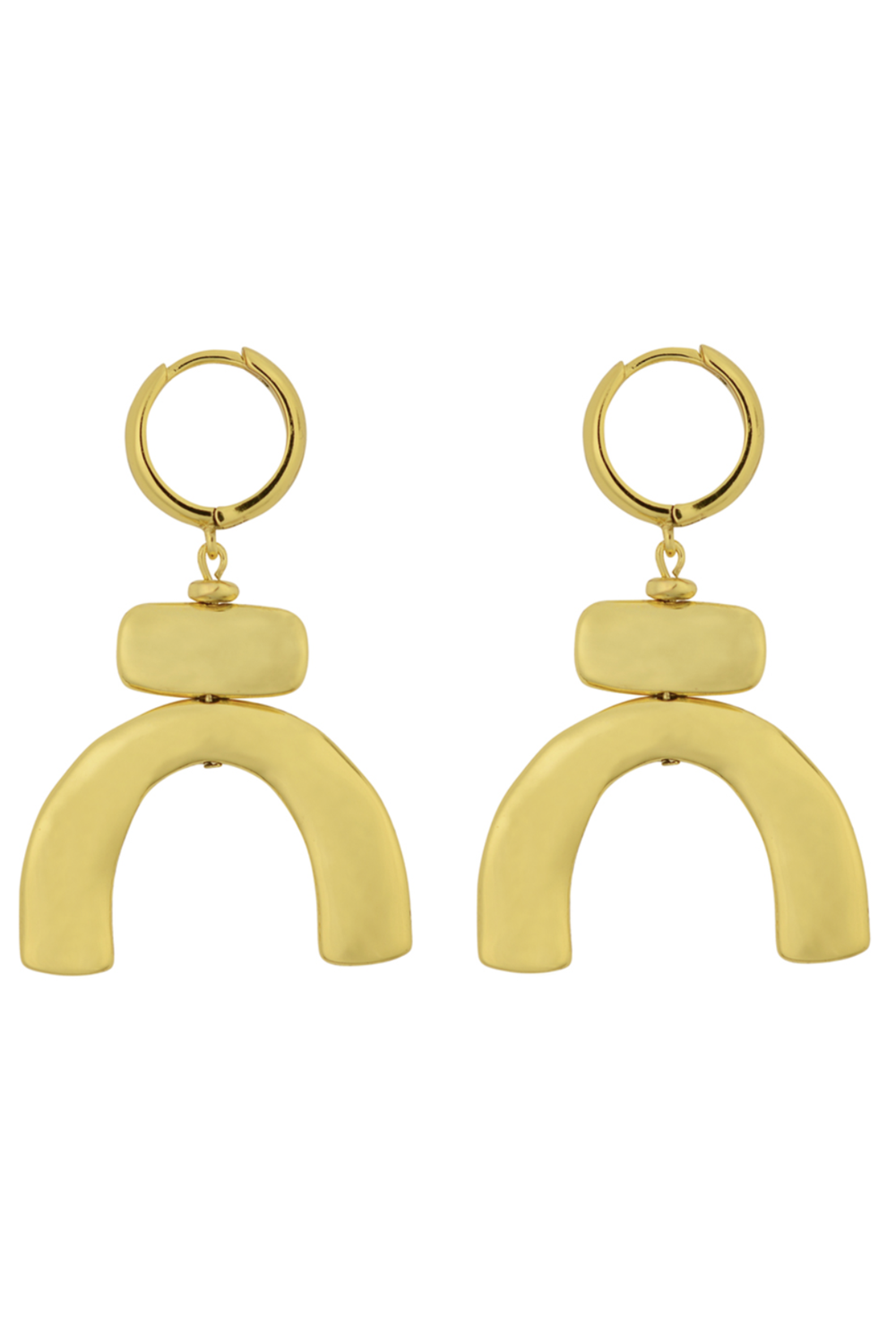 Lampara Earrings / Gold | Brie Leon | Mad About The Boy