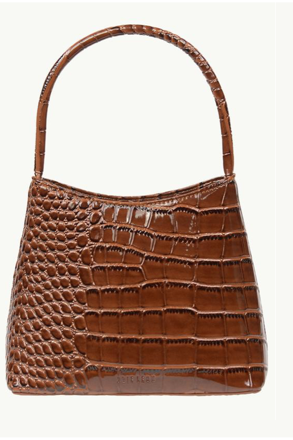 The Chloe Bag / Dark Brown Oily Croc | Brie Leon | Mad About The Boy