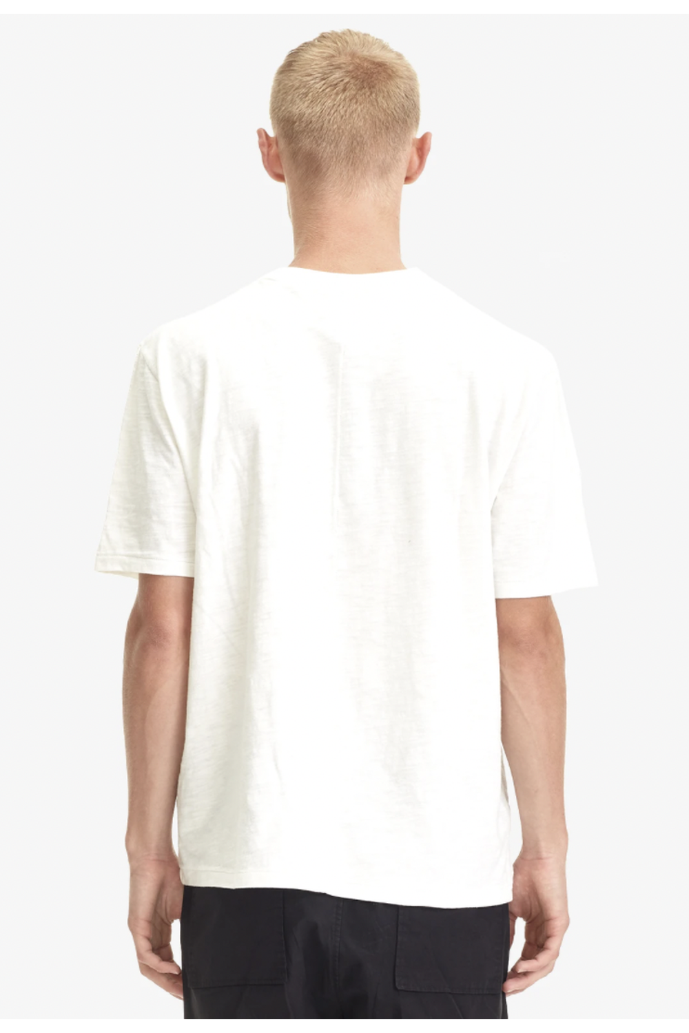 Relaxed Pocket Tee/ White | COMMONERS | Mad About The Boy