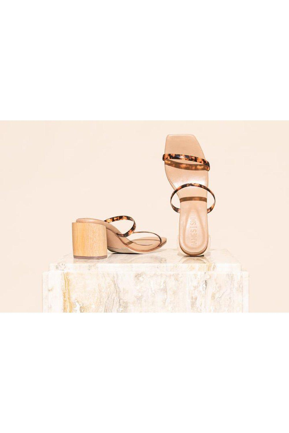 Sirenuse Strap Sandal / Tortoise shell | James Smith | Mad About The Boy