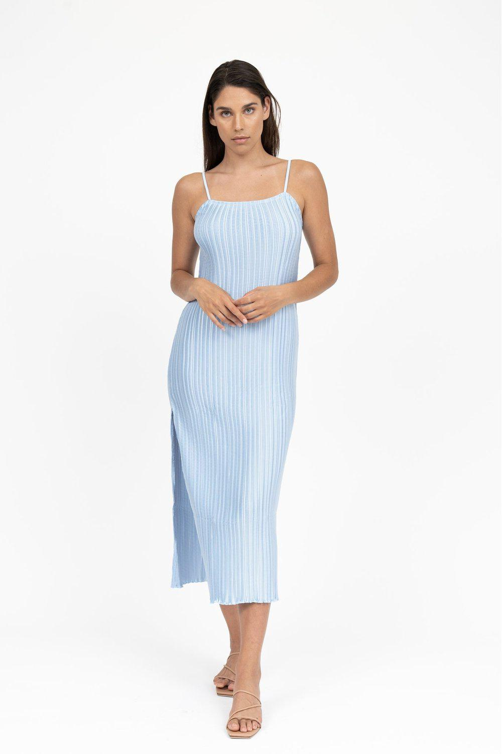 Sirene Simple Slip / Ice Blue | L'idèe | Mad About The Boy