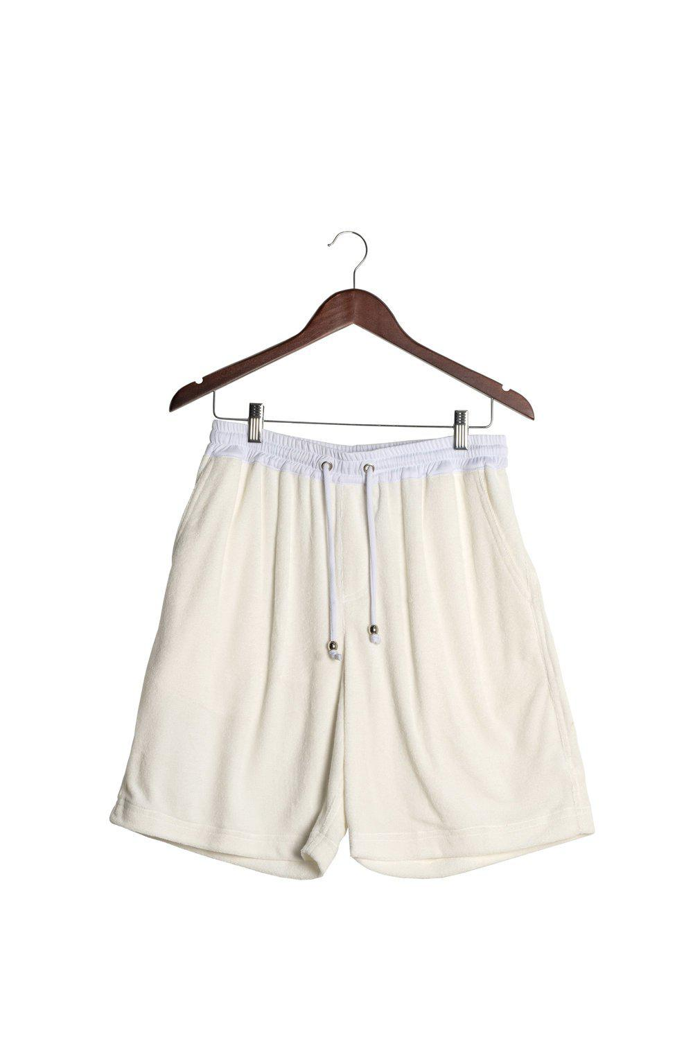 Travel Short / White | L'esure | Mad About The Boy