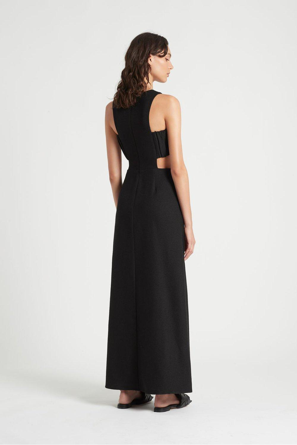 Yves Cut Out Gown / Black | SIR | Mad About The Boy