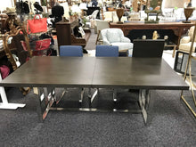 Load image into Gallery viewer, Rylan Extending Dining Table w/ Leaf, Modern Base (Some Scuffs; 30.5x88x42)