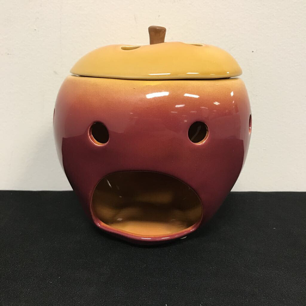 Apple Candle Warmer with Lid