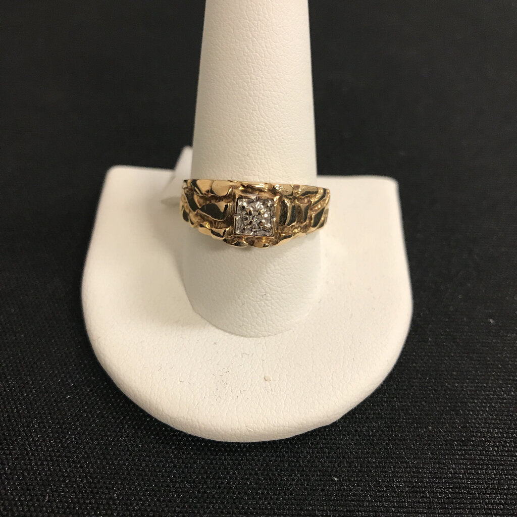 GP10 -size 11- Diamond Nugget Ring
