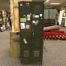Load image into Gallery viewer, Green Metal Storage Cabinet (66x24x12)