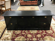Load image into Gallery viewer, Black Credenza (29x78x22)