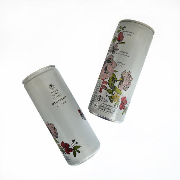 2x Tread Softly Prosecco Can 250ml