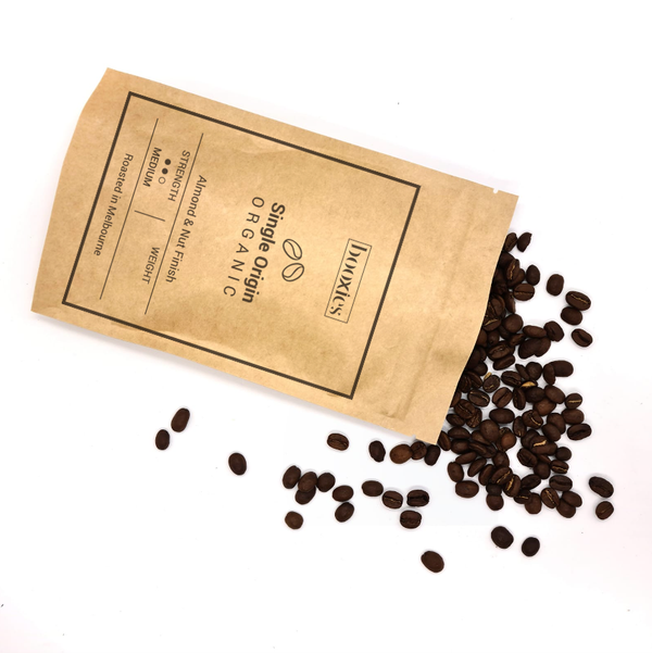 Organic Single Origin Coffee Beans 150g
