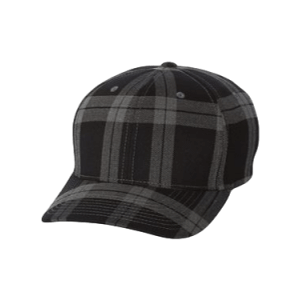Black and White Plaid Hat sold by RQC Supply Canada