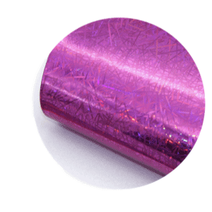 Dark Pink Holographic Sparkle Printed Faux Leather Sheets sold by RQC Supply Canada