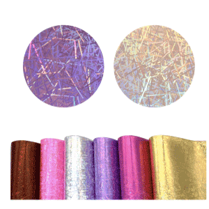 Holographic Sprinkle Style Faux Leather Sheet- Pick 1 Colour